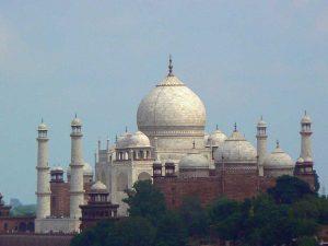 Taj Mahal at a distance