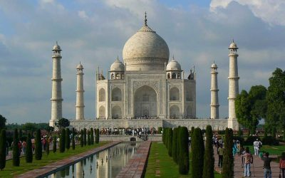 The Taj Mahal – travel India with us.