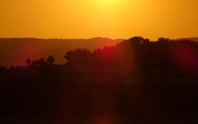 Cannakale sunset